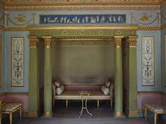 Robert Adam: Country House Design, Decoration & the Art of Elegance Neoclassical Interior, Neoclassical Architecture, Antique Interior, Architecture Details, Paris Architecture, Antique Furniture, Estilo Adam, Versailles Hall Of Mirrors, New Top Design