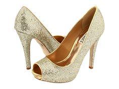 Badgley Mischka Humbie II Gold Glitter