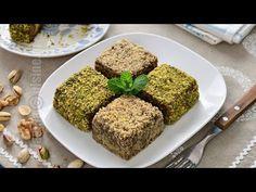 Prajitura tavalita cu fistic si nuca, pufoasa si gustoasa | JamilaCuisine - YouTube No Cook Desserts, Lidl, Meatloaf, Banana Bread, Vegan, Cooking, Recipes, Activities, Youtube
