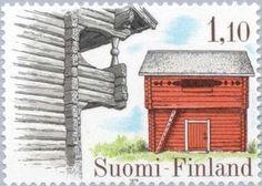 Issued in 1979, Suomi - Storehouse Luukila, Haukipudas & Keskikangas, Ylihärmä