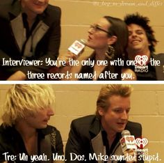 Come on, you know you want Tre to be your BFF!