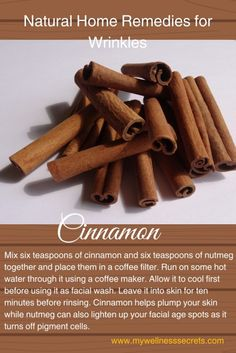 Home Remedies for Wrinkles: Cinnamon