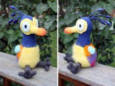 Amigurumisfanclub Kevin : Disney pixar up kevin amigurumi plushie by kaelby.deviantart.com on