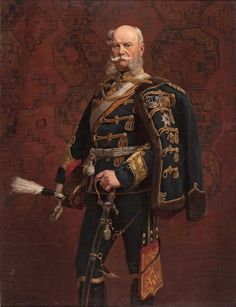Posthumous portrait of Kaiser Wilhelm I by Emil Hünten, 1891