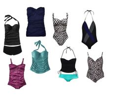 JK Style - Best swimsuits for your body type - Apple Shaped