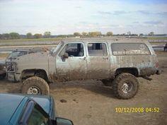 Chevy boyz wear there mud proud