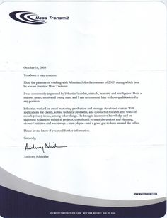 How To Write Letter Of Recommendation (Sample Letters)