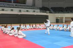 Trainng of Lee Brothers' Students from US At Taekwondown
