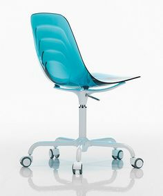 B2H's Coupe G Height Adjustable Castor Chair by Softline Allkit