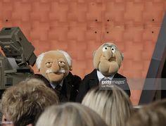 Jim Henson, Puppets, Lion Sculpture, Photographs, Creatures, Statue, Art, The Muppets, Statler And Waldorf