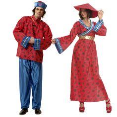 Costumes pour couples Chinois #déguisementscouples