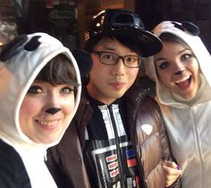 Panda life with Jung Soo Vader #halloween2015 #hongdae #pandamonium by tori_bird