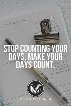 Make your days count. Follow all our motivational and inspirational quotes. Follow the link to Get our Motivational and Inspirational Apparel and Home Décor. #quote #quotes #qotd #quoteoftheday #motivation #inspiredaily #inspiration #entrepreneurship #goals #dreams #hustle #grind #successquotes #businessquotes #lifestyle #success #fitness #businessman #businessWoman #Inspirational