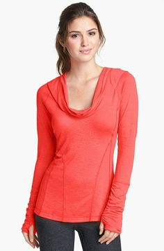 Zella 'All Shirred Up' Pullover available at #Nordstrom