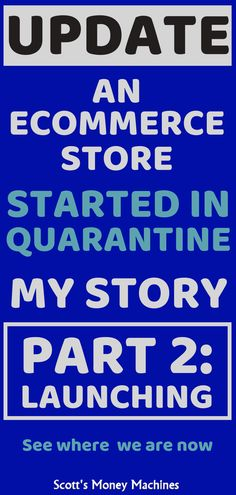 I'm building and launching my Shopify store and sharing everything with you. This is part 2 of my story while in quarantine - the launch of my store. Make Money Fast, Make Money Blogging, Make Money Online, Earning Money, Online Marketing, Content Marketing, Digital Marketing, Cash From Home, Money Machine