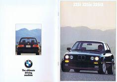 '88 BMW E30/325.  US brochure.