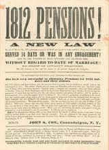 War OF 1812 ONLINE RECORDS; Pension records are some of my favorite resources.  They are chock full of information; family names, dates, places they lived.  Revolutionary Pensions are so fantastic.