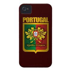 Portuguese Gold iPhone 4 Cases