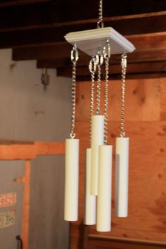how to make wooden wind chimes