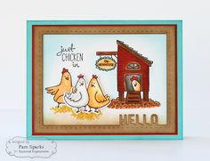 Pam Sparks Happy Hens Hello