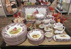 Fall Dinnerware from Borsheims! http://www.borsheims.com/Spode_Woodland_Dinnerware-F14689.aspx