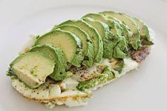 easy healthy breakfast avocado egg white