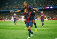 Blog Esportivo do Suíço:  Quartas de final da Liga dos Campeões: Neymar marca dois, Barça vence PSG e vai às semis