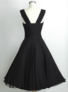 7f3b2a8642e Vintage Square A-line Chiffon Ruched Side-Zipper Short Black Homecoming  Dress