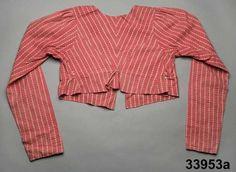 Spencer jacket 1815-35 Digitalt Museum