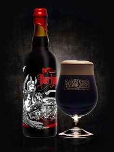 Surly Brewing Co Beer - 'Darkness Day'  #craftbeer #thirsty @surlybrewing #MN #demand Beer Brewing, Home Brewing, Red Wine, Home Hacks, Alcoholic Drinks, America, Glass, Craft Beer, Food