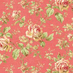 Fabric - Emma - Rose - Orange