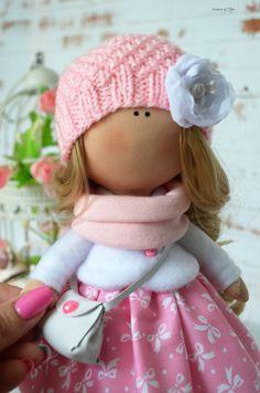 Tilda doll Interior doll Fabric doll Art doll by AnnKirillartPlace