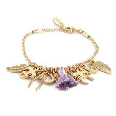 Charmed Life Bracelet in Lavender - Ettika