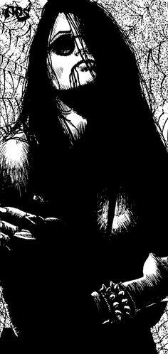 tim bradstreet vampire | Tough Vampire Chick by *raben-aas on deviantART