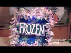 ELSA DE FROZEN EN FOAMY O GOMA EVA 2/2 . - YouTube