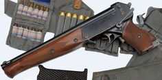 TP-82 Triple-barrelled Soviet Pistol [ 5.45×39mm (below) And 12.5×70 Shotgun Shells (above) ]