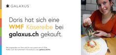Doris hat sich eine WMF Käsereibe bei galaxus.ch gekauft. #Galaxuslive