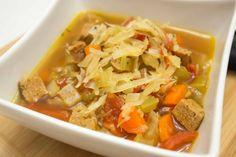 Italian Sausage & Cabbage Soup ~ Paleo & Whole30