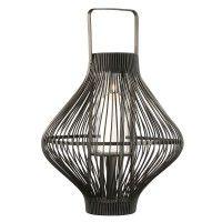 Design Windlicht Bambus groß