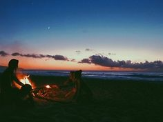 Wanderlust - the ultimate beach bonfire