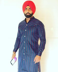Image may contain: one or more people and people standing Ammy Virk, Turban Style, Polly Pocket, Fashion Updates, Swagg, New Outfits, Actors & Actresses, Gucci, Photoshoot