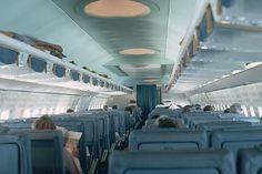 Pan Am 707 cabin