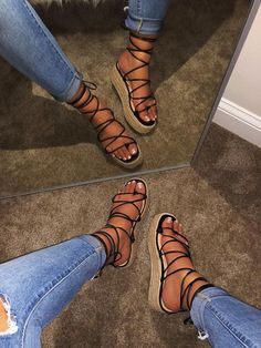 Say hello to your new everyday shoe . the Harper Nude Suede Ankle Strap Heels! A chic single sole silhouette with wrapped block heel. Cute Sandals, Shoes Sandals, Strappy Sandals, Black Sandals, Gladiator Sandals, Flats, Fashion Heels, Sneakers Fashion, Aesthetic Shoes