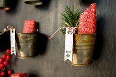 Pottery Barn Knockoff DIY Advent Calendar