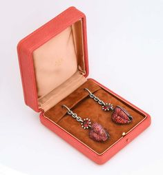 Orange Sapphire, Gem S, Fashion Earrings, Dangle Earrings, Dangles, Jar, Jewels, Pink, 14 November