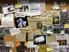 Image result for investigation pinboard Life tv series