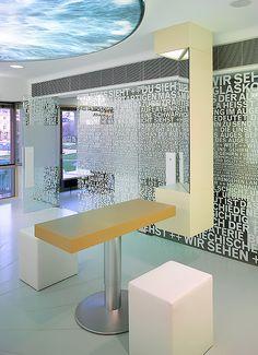 Kästner Optik, Stuttgart, Germany designed by Ippolito Fleitz Group Architects