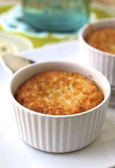 The Café Sucré Farine: Mini Coconut Impossible Pies Single Serve Meals, Single Serve Desserts, Single Serving Recipes, Small Desserts, Desserts For A Crowd, Mini Desserts, Just Desserts, Delicious Desserts, Dessert Recipes