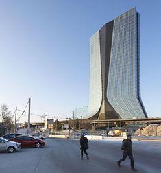 CMA CGM Headquarters by Zaha Hadid