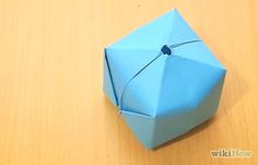 How to Fold an Origami Cube (with Pictures) - wikiHow